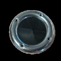 Kabeldoorvoer Ø90x58mm, H=5mm; met RVS ring