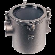 allpa Brons-Vernikkelde Koelwaterfilters (robuust) met RVS 316 zeef