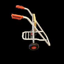 allpa Transportwagen (opklapbaar) voor buitenboordmotor (max. 100kg); Alum.buis