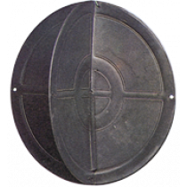allpa Kunststof Ankerbal, Ø350mm, zwart