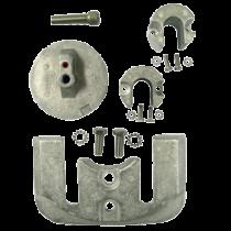 allpa Aluminium Anode kit Navalloy, Bravo-2, 1989 - Present & Bravo-3, 1989 - 2003