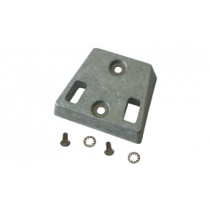 Navalloy Anode transom mount