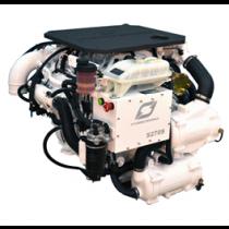 Hyundai Scheepsdieselmotor S270P TURBO & intercooler, Technodrive keerk. TM880A, reductie 1.53:1