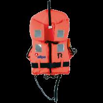 "allpa Reddingsvest model ""Regatta Soft"", 70-90kg, oranje (CE ISO 12402-4 100N)"
