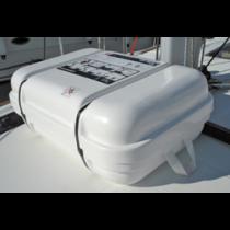 allpa Kunststof houder, telescopisch,voor ISO 9650-1, 180x400x670/870mm