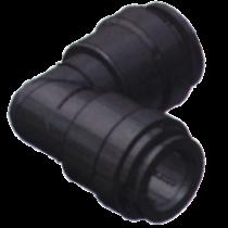 SeaTech Quick-connect knie-stuk, Ø15mm x Ø15mm