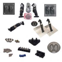 Losse onderdelen elektrisch trim tab systeem