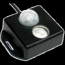 allpa Brightline Infrarood bewegingsschakelaar PLS-1 PIR DC, 12/24V, ingebouwde LED-Lamp