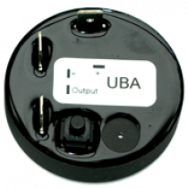 "allpa Battery watch monitor model ""UBA"", 3 hoofdprogramma's met buzzer & alarmcontact, Ø45mm"