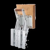 allpa Aluminium Buitenboordmotorstoel, klapbaar (max. 50kg) (met dubbel frame)