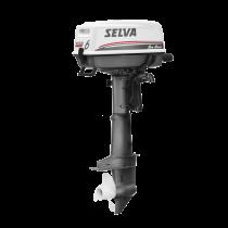 Selva BB-motor Sea Bass 4-Takt Type SI C  6 pk  Handstart (interne tank)