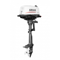Selva BB-motor Guppy 4-Takt Type SI.C  2.5pk  Handstart