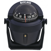 "Ritchie Kompas model ""Explorer B-51"", 12V, beugelkompas, roos Ø69,9mm / 5º, zwart"