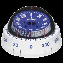 """Ritchie Kompas model """"Tactician XP-98W"""", opbouwkompas, roos Ø76,2mm / 5º, wit"""
