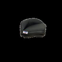 allpa Plug-in Pro stand-up zitting van zwart kunstleer met plastic basis