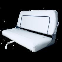 allpa Stuurstoel model Coach de Luxe Twin wit; 51cm(D)*94cm(B)*44cm(H).