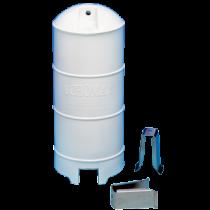 Echomax 180 Radarreflector Wit met mastbeugels (070605)