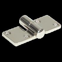 allpa RVS Scharnier uitneembaar, 92x37mm, Ø5mm  LINKS