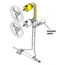 Seastar-set voor Systeem-5 * 110kgm / voor 2e Stuurstand