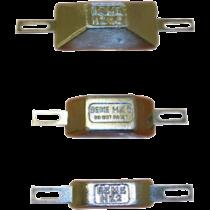 allpa Zinkanode met strip voor boutmontage, type HZ-5, 165x40mm (0,50kg)