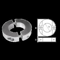 Aluminium Schroefas-Anoden, ringvorm