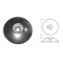 Aluminium roerblad anodes