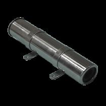 allpa RVS hengelhouder voor zijmontage, L=260mm, max. Ø45mm