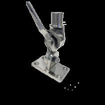 allpa RVS Verstelbare antennevoet, voetmontage