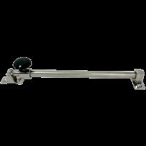 allpa RVS Luikuitzetter, telescopisch, A-min 300mm / A-max 430mm, B=13mm