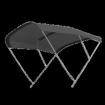 "RVS zonnetent Model ""BIMINOX"" - zwart"