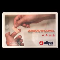 "allpa Verbandtrommel type ""B"", standaard inhoud, inclusief wandhouder"