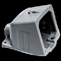 allpa CEE-32A Opbouwhuis voor stopcontact (089322), aluminium