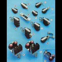 allpa Kunststof blokken met RVS versterkte wangen, 8mm