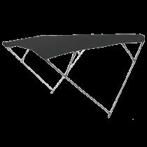 "Aluminium zonnetent Model ""WILMA"", 4 beugels"