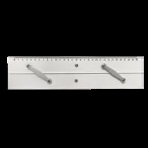allpa Plexiglas parallel lineaal, L=300mm
