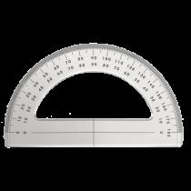 allpa Plexiglas Goniometer 180°, L= 150mm