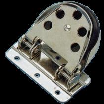 allpa RVS geleideblok voor lijn 12mm, schijf Ø55mm, breekkracht 1400kg