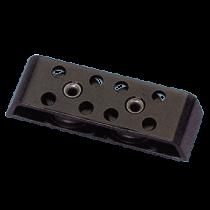 allpa Aluminium kogelgelagerde organizer tweeschijfs, 10mm, schijf Ø38mm, L=125mm, breekkracht