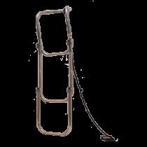 Opvouwbare  RVS 3-traps zwemtrap voor opblaasboot