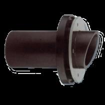 allpa Kunststof huiddoorvoer met RVS ring, aansluiting Ø40 / 45 / 50mm