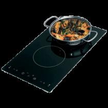 allpa Flush mount elektronische kookplaat met touch screen control, 2-pits 230V, 500x300x41mm
