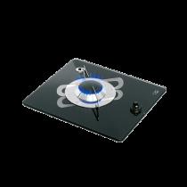 allpa Gaskomfoor met thermische glasplaat 325x290x80mm, brander: 1x medium