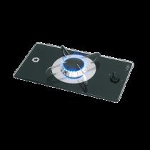 allpa Gaskomfoor met thermische glasplaat 365x200x80mm, brander: 1x medium
