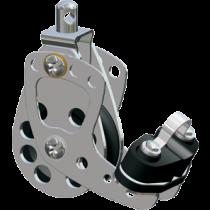 Antal aluminium cam cleat  RVS singleblock serie 65