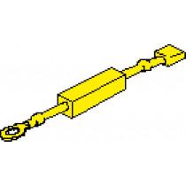"""allpa Weerstand voor alle overige 2"""" instrumenten (24V --> 12V)"""