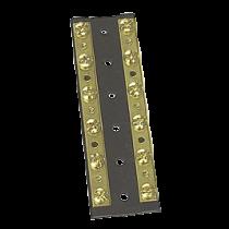 Sierra Verbindingsstrip (massief messing strips op kunststof-basis) 6-verbindingen