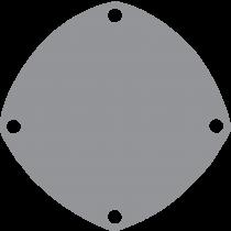 Johnson Pomp bronzen deksel voor pomp F5 / F6