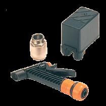 Johnson Pump dekwaskit voor impellerpomp F4B-19, incl. drukschakelaar, terugslagklep & spuitpistool