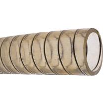 allpa Knikvaste PVC zuig/persslang met stalen spiraal