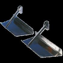 Smart Tabs Trimplaat (1 stuk) RVS, voor vaste montage